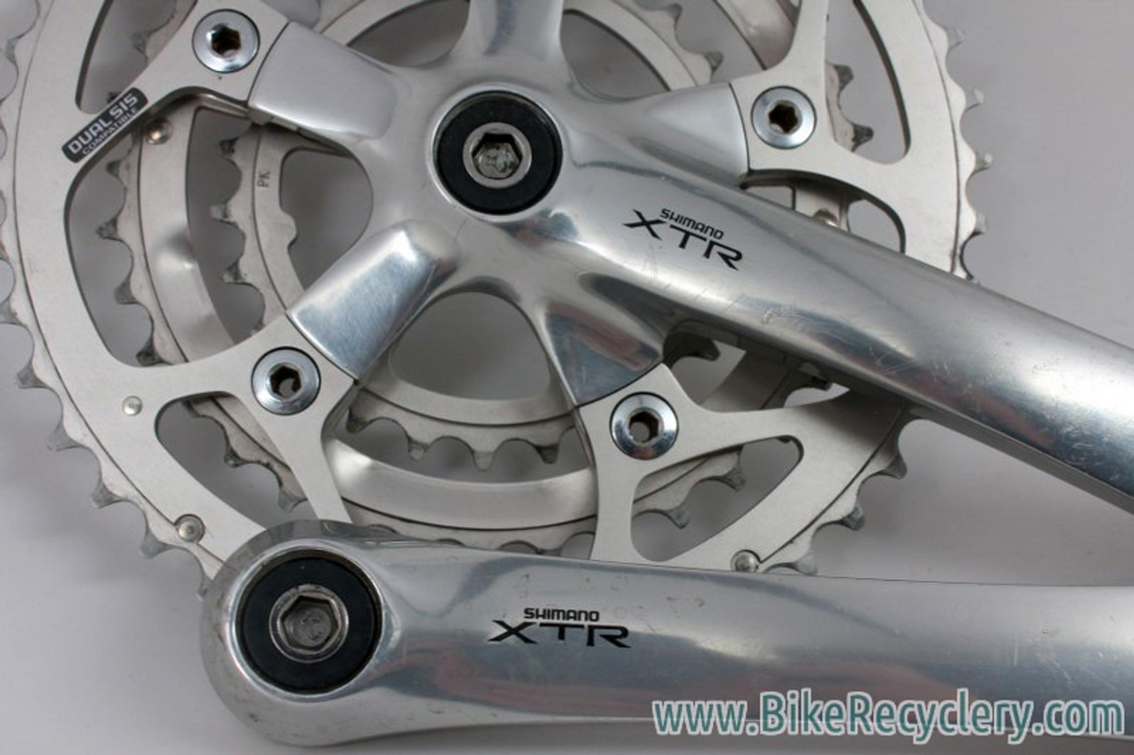 Details about  /Shimano Crankset FC-M9000 XTR 175mm Bicycle BMX Road Bike Used