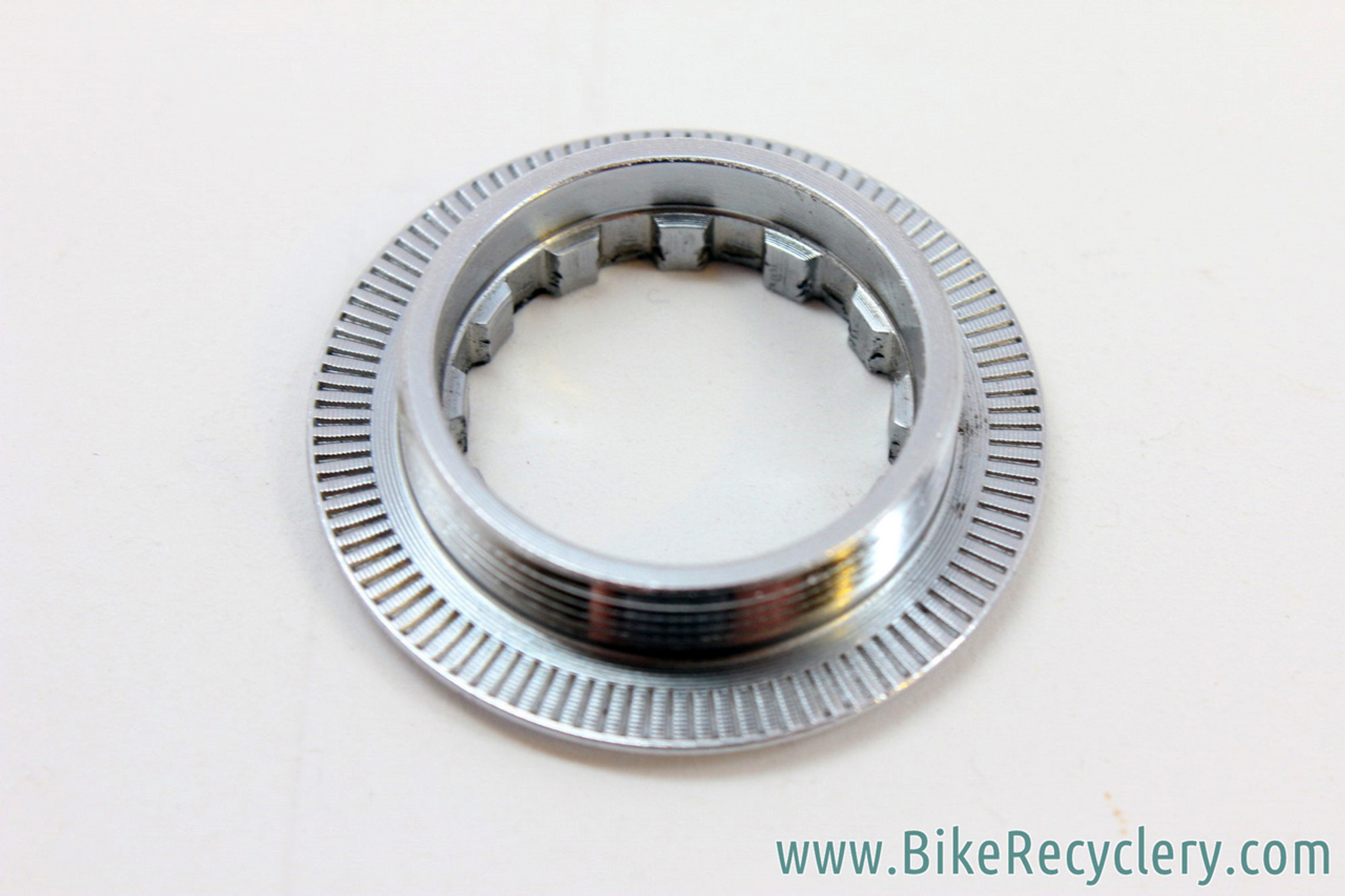 NOS Campagnolo Record 8-Speed Cassette Lockring: 29mm Threads, 38.5mm O.D. For 12t / 13t / 14t First Cog