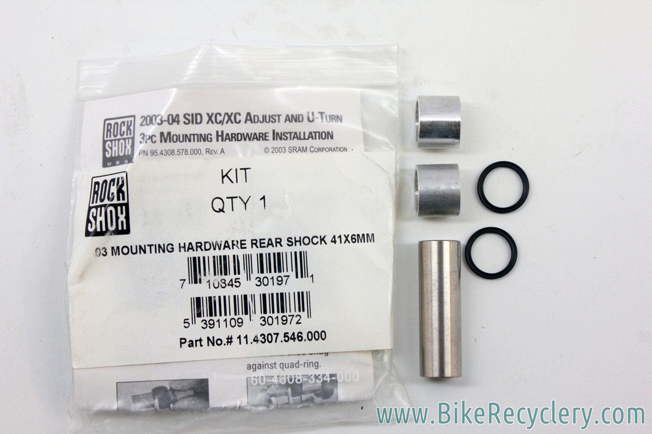 Rockshox Rear Shock Mounting Hardware / Reducers (Bulk Pricing Available)
