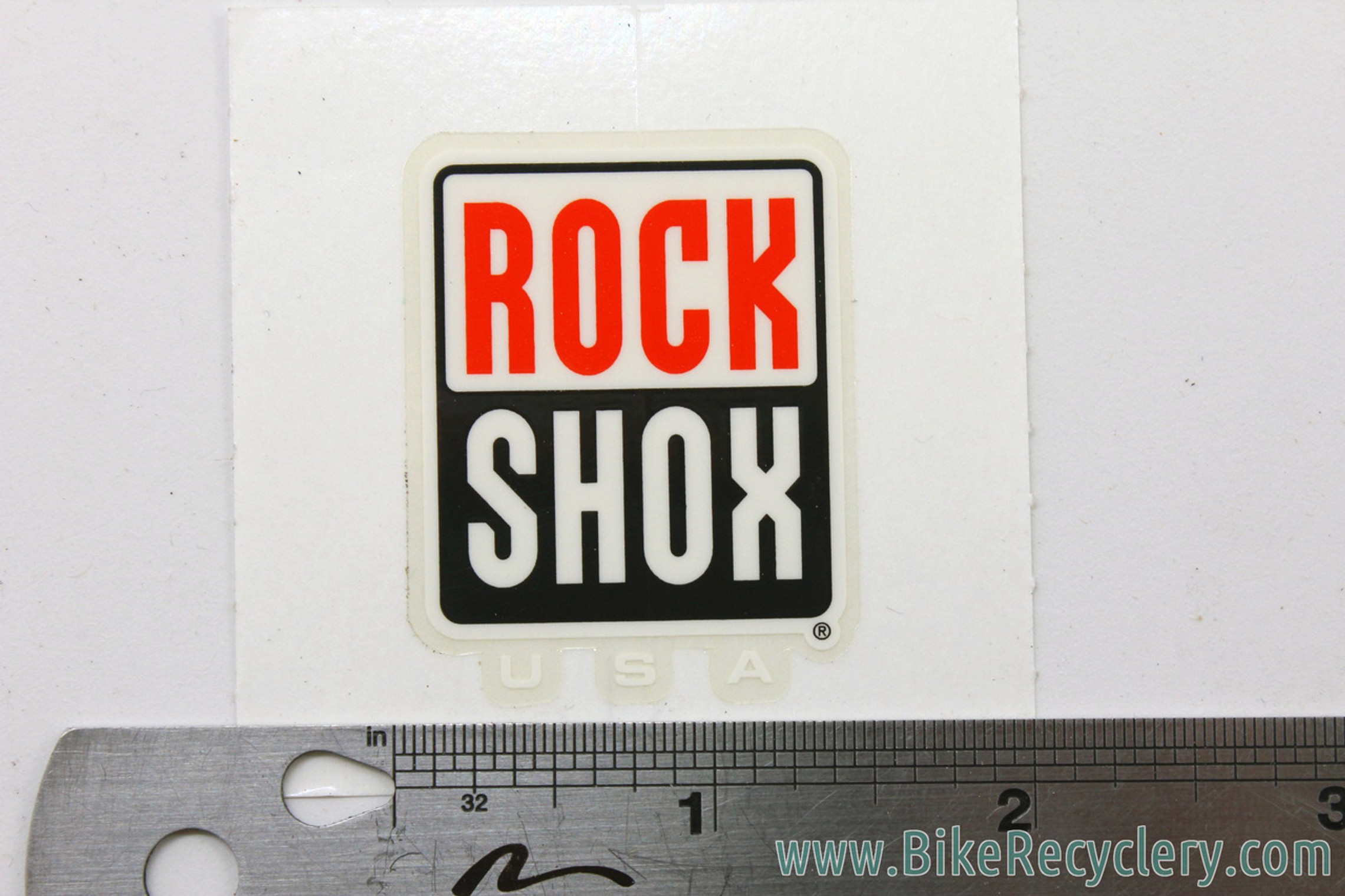Rockshox Fork Decals: ORIGINAL 1990's to Early 2000's! SID - Judy - Psylo - Boxxer - Indy (Set of 5)