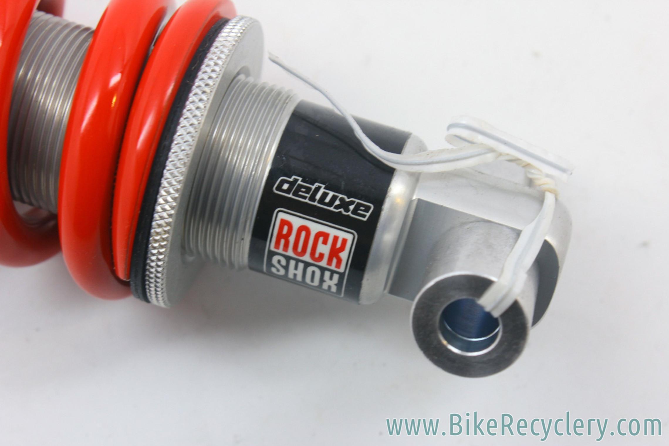"""NOS Vintage Rockshox Deluxe Rear Coil Shock: Rebound Adjustment - 600lb RED Spring - 6.5 x 1.5"""""""