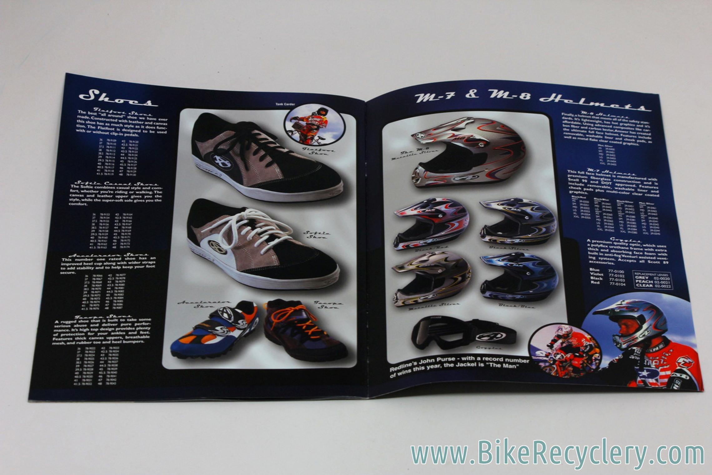 1999 Answer Manitou BMX Catalog