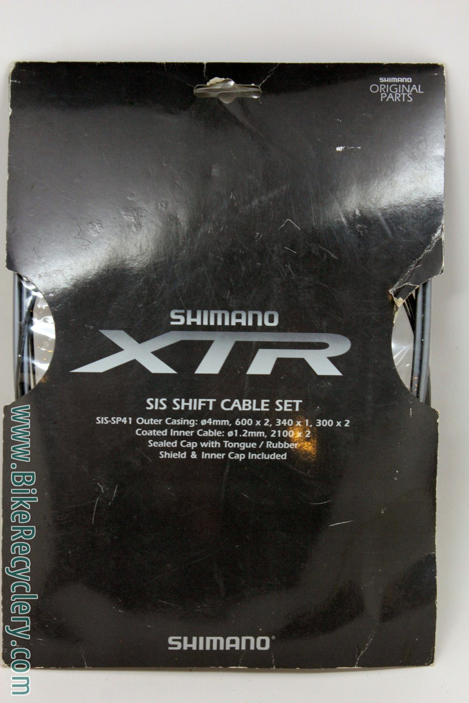 XTR SIS SP41 Cable & Housing Set: Grey - Front/rear (NEW)