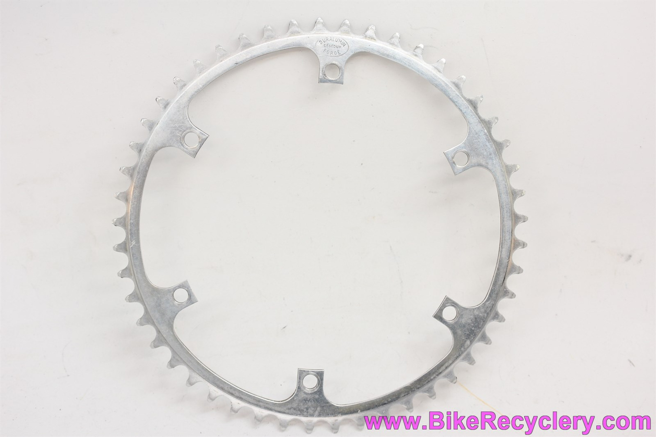1950's Specialties T.A. 6-Bolt Chainring:  49t x 152mm Massed Start REF 106 - Old Logo!