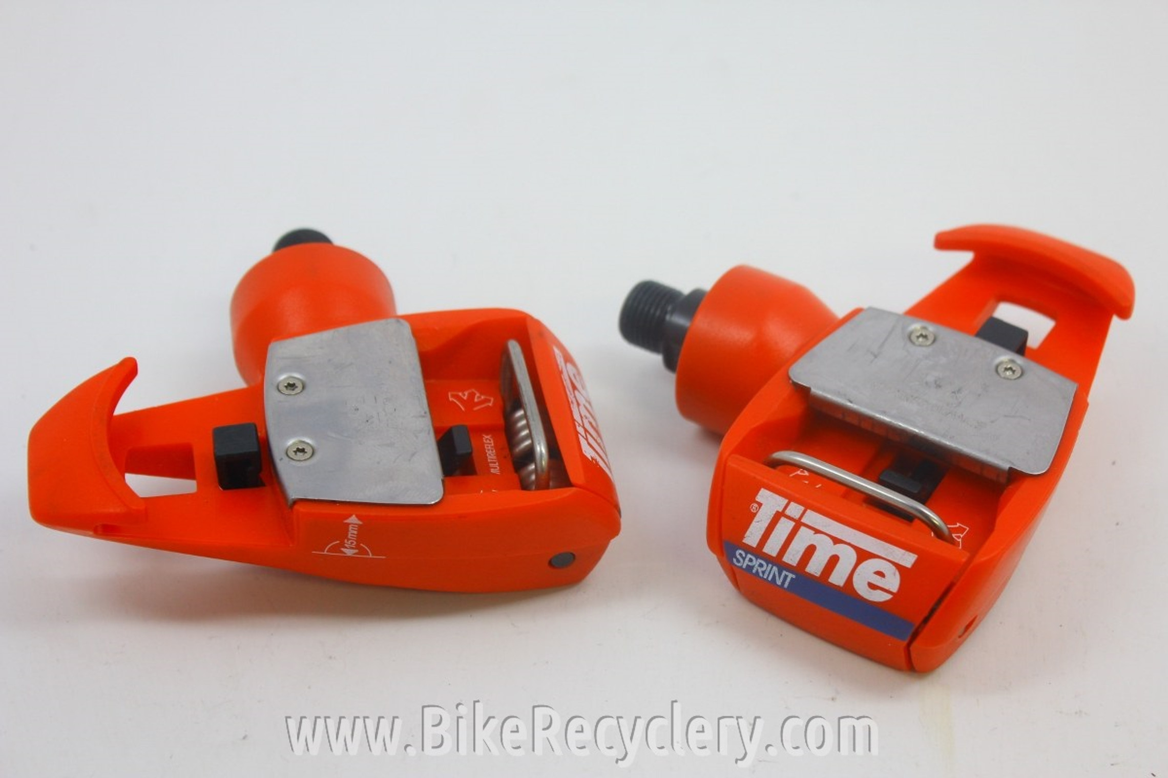 Time TBT Sprint Clipless Pedals: Red (Near Mint)