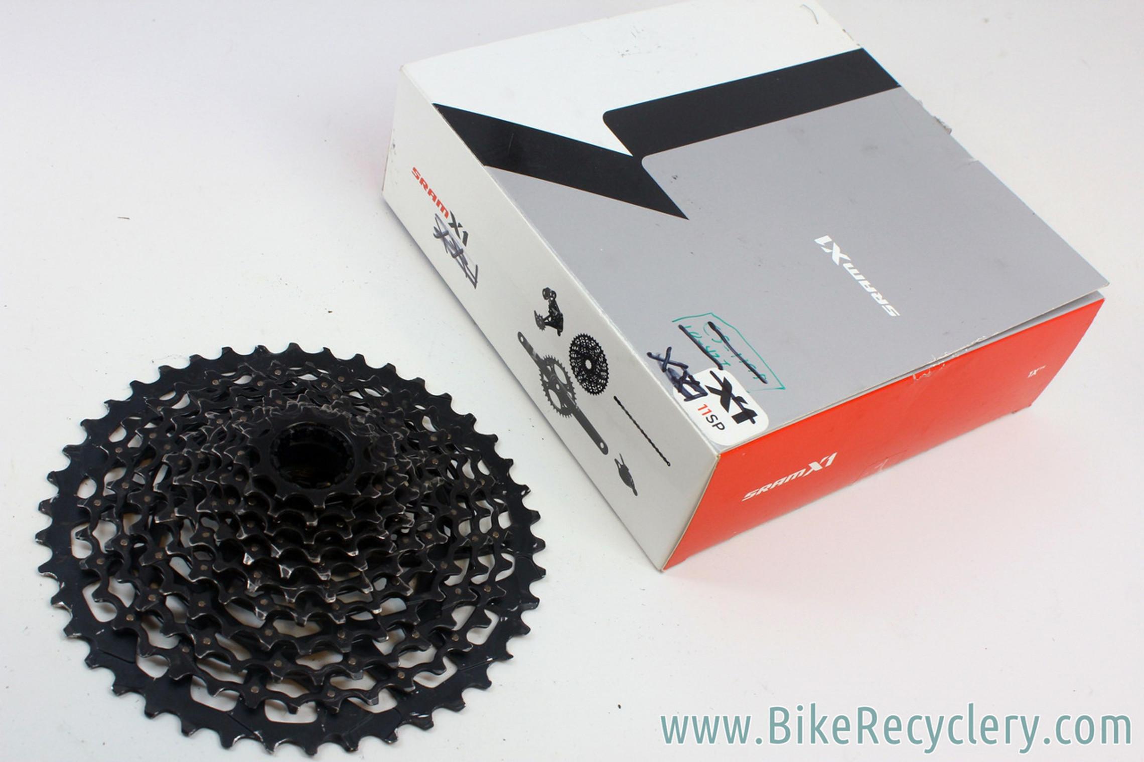 SRAM X1 XG-1199 11 Speed MTB X-Glide Cassette: 10-42t - Fits XX1 X01 X1 (used)