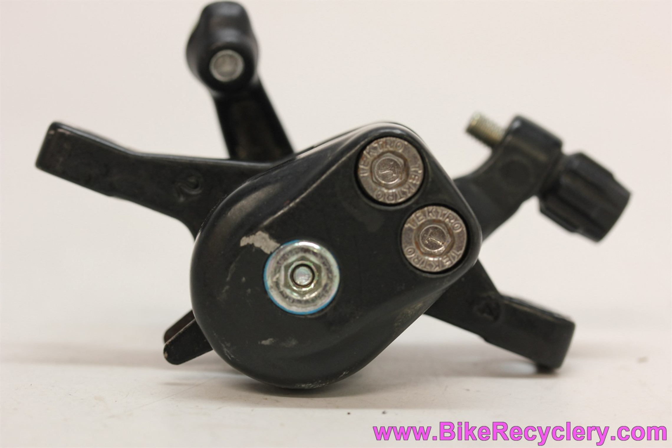 Tektro I.O. Mechanical Disc Brake Caliper: Black