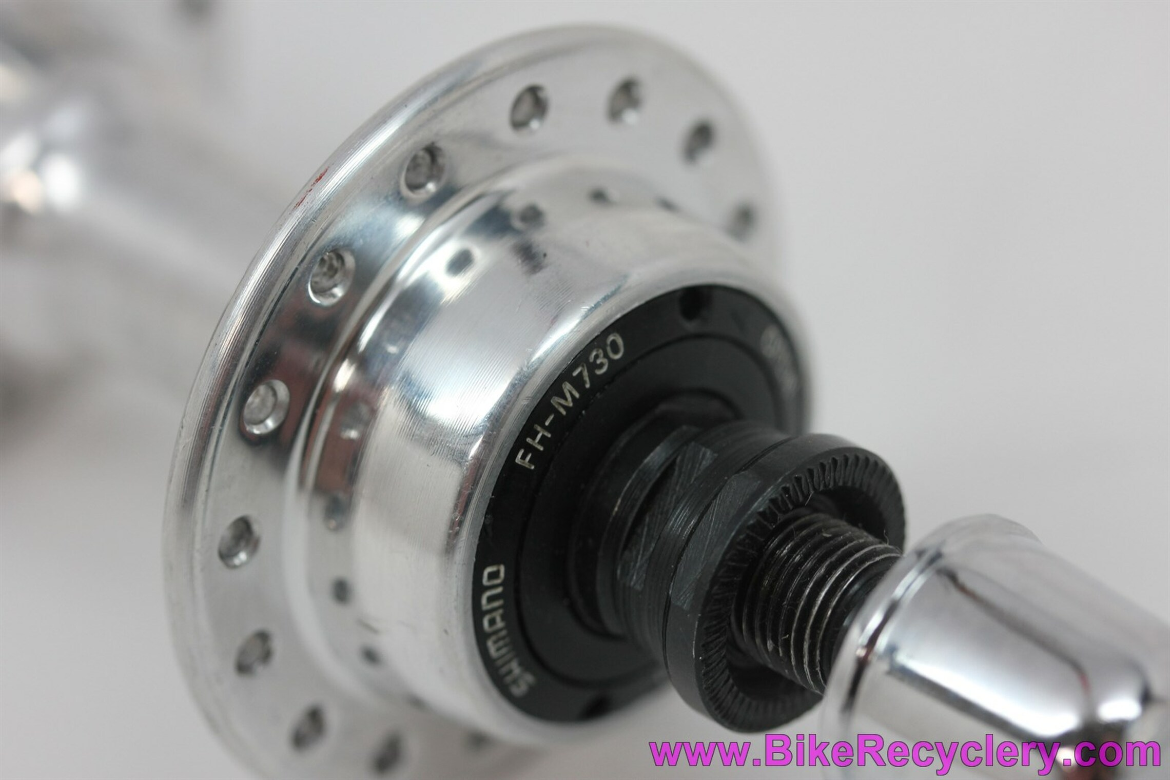 NOS Shimano Deore XT Hubset: HB-M730 FH-M730 6/7 Speed - 36H/32H x 126mm- QR Skewers