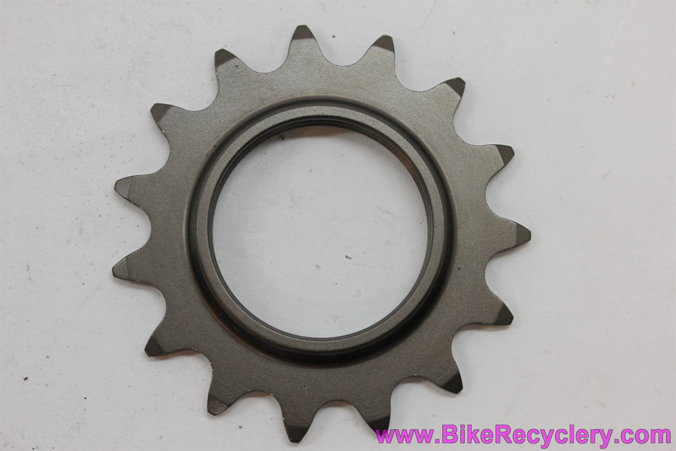 """NOS Campagnolo C-Record Pista Track Cog: 15t x 1/8"""" - FRENCH - Alloy"""