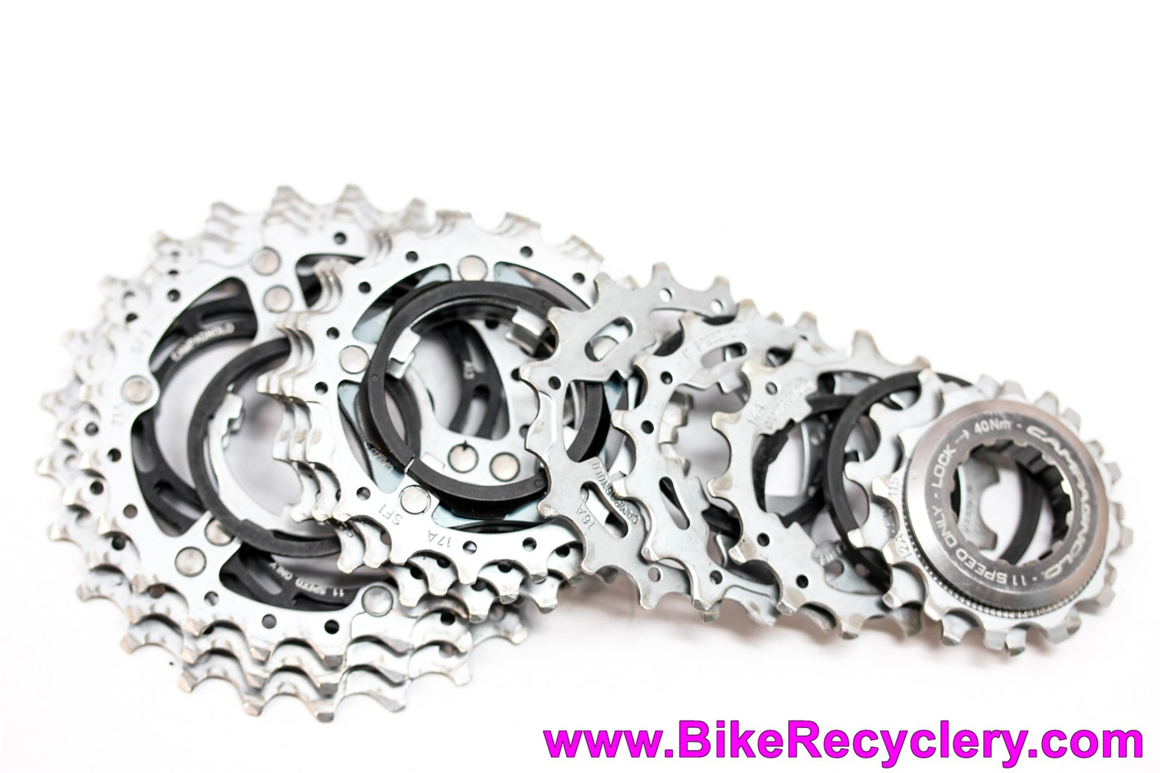 Campagnolo Chorus 11 Speed Cassette: 12-25t (Almost New <100 Miles)