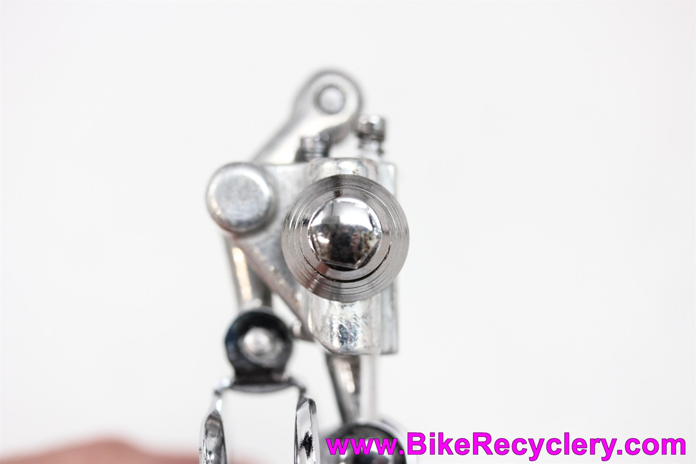 NOS(?) Campagnolo Nuovo Record Three Hole Front Derailleur: 1052/NT - Braze On (take off)