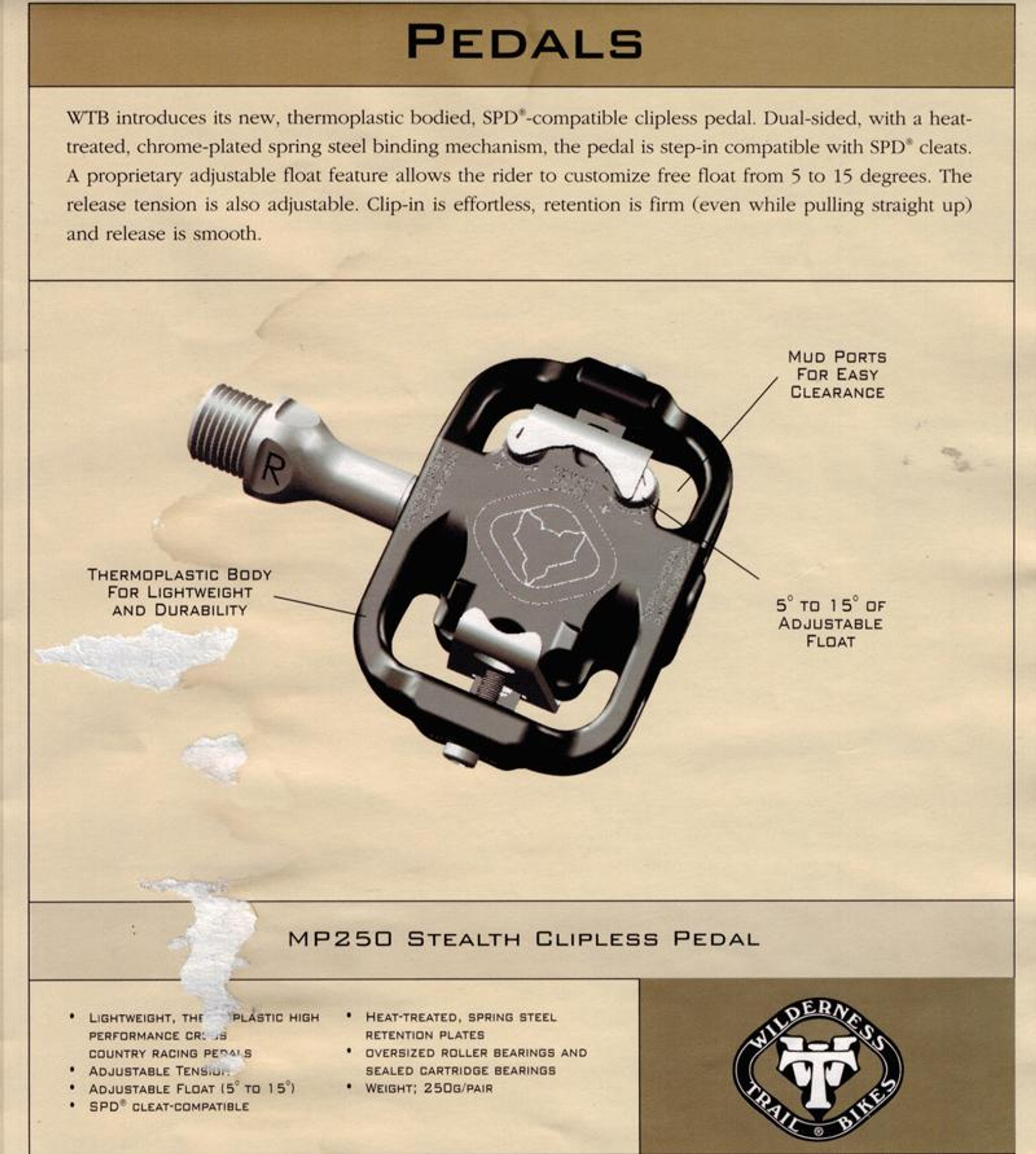 WTB Thermoplastic Catalog scan