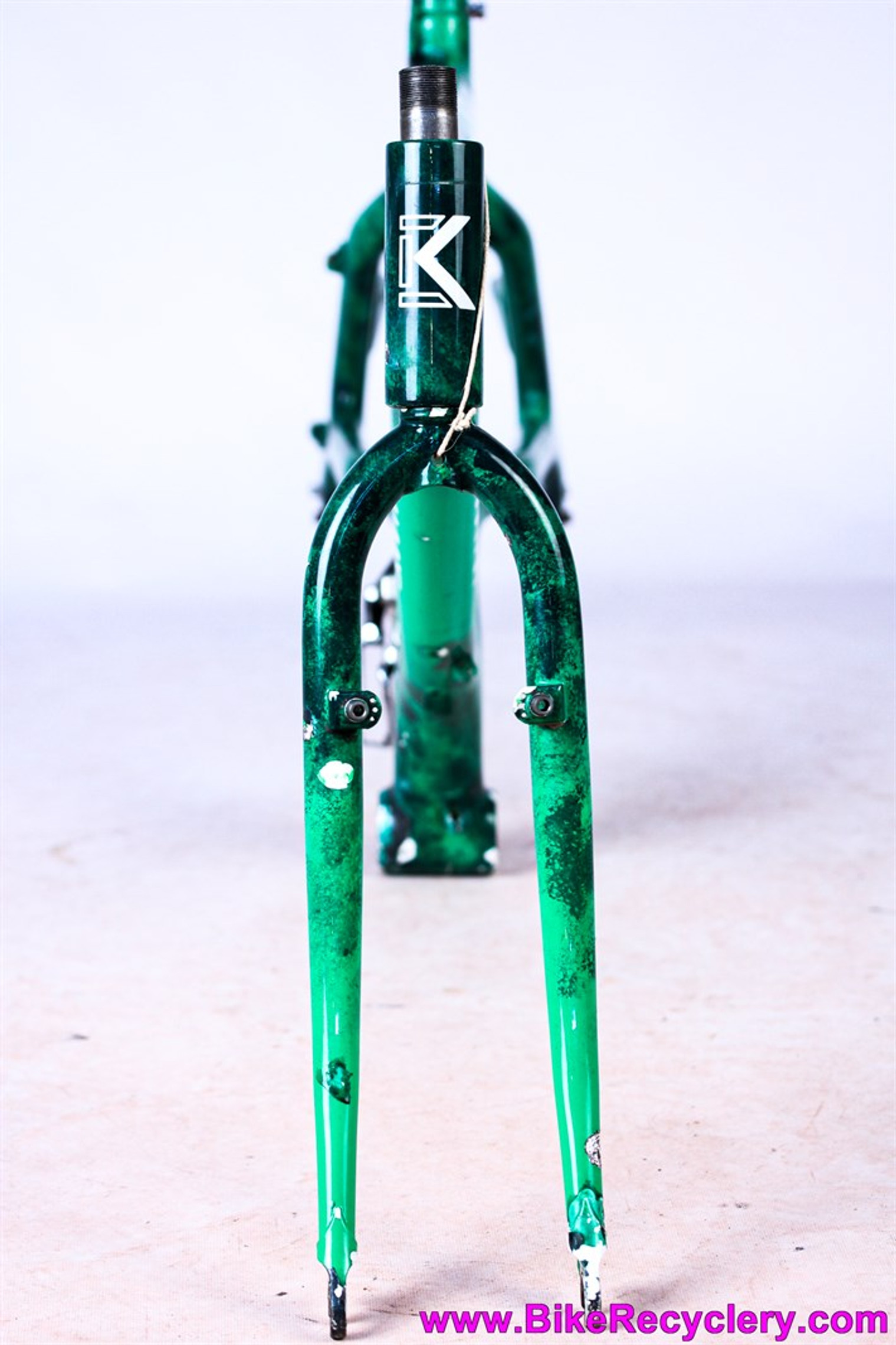 "1989 Kestrel MX-Z MTB Frame &  Fork: 19"" - First Mountain Bike Monocoque Carbon Frame! - CyclArt"