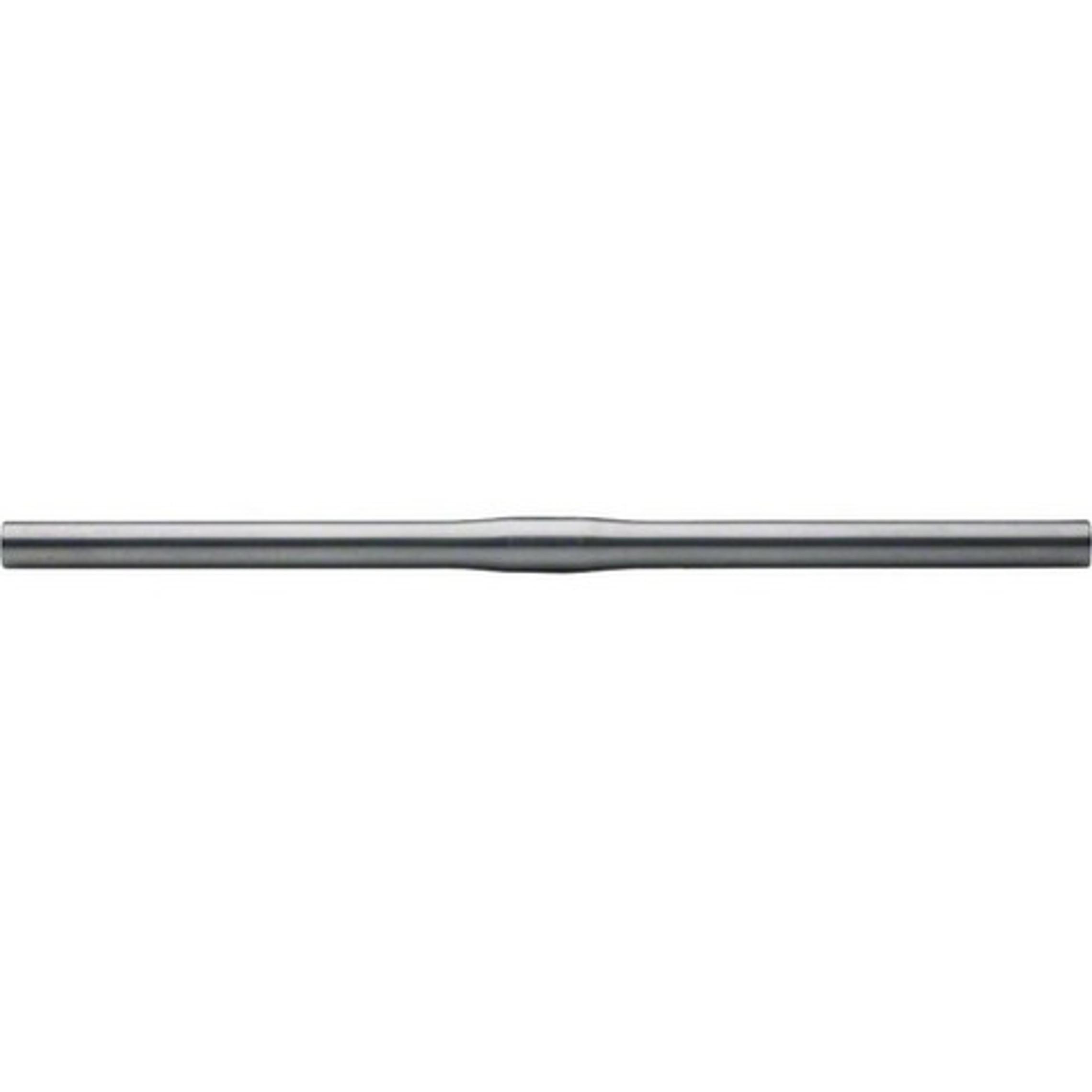 Nitto B2500 Straight Handlebar: 25.4mm Clamp x 500mm - Zero Rise/Sweep - Silver (NEW)