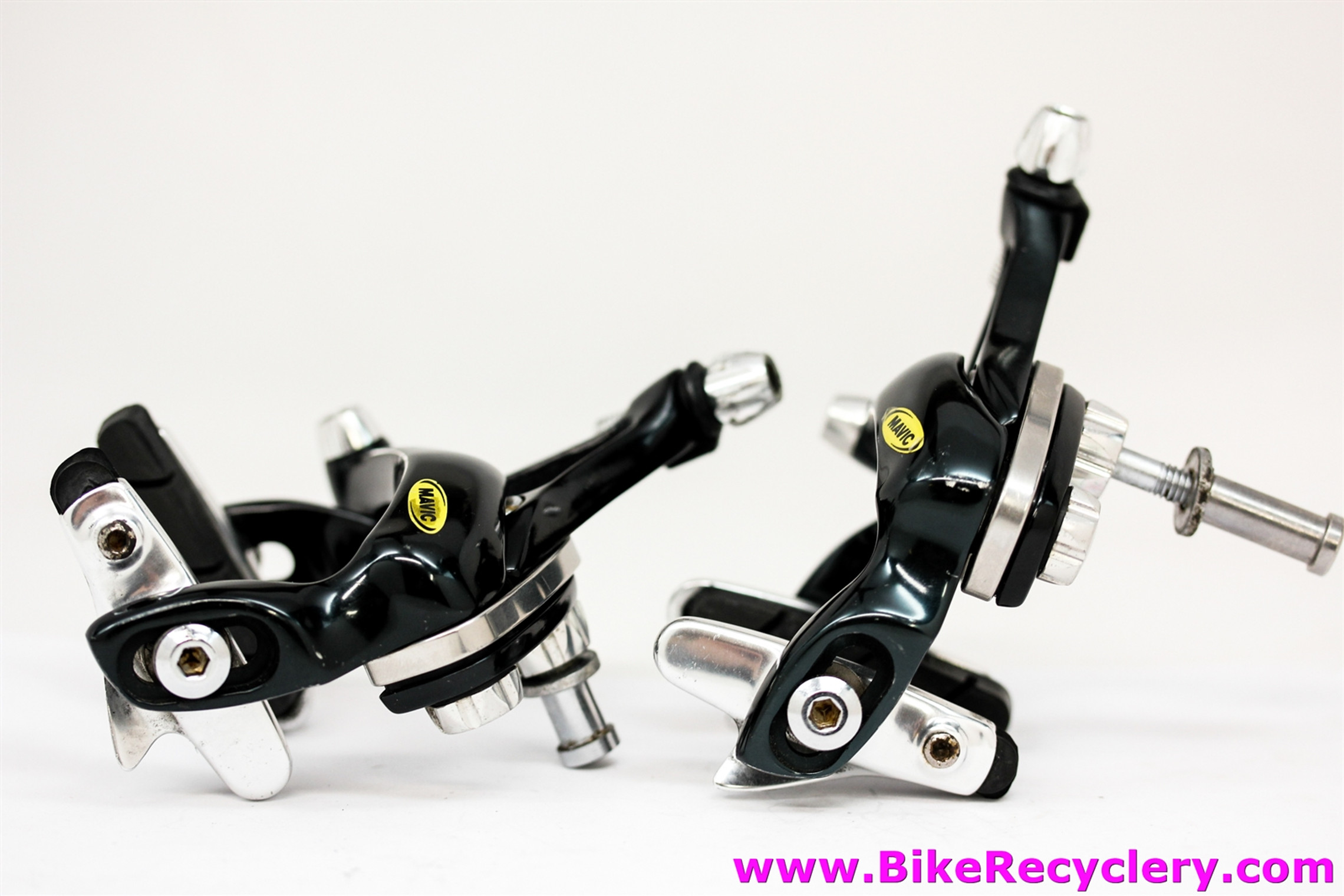 Mavic SSC SSC Brakeset: Dual Pivot - Black - Leaf Spring - RARE (Almost New)