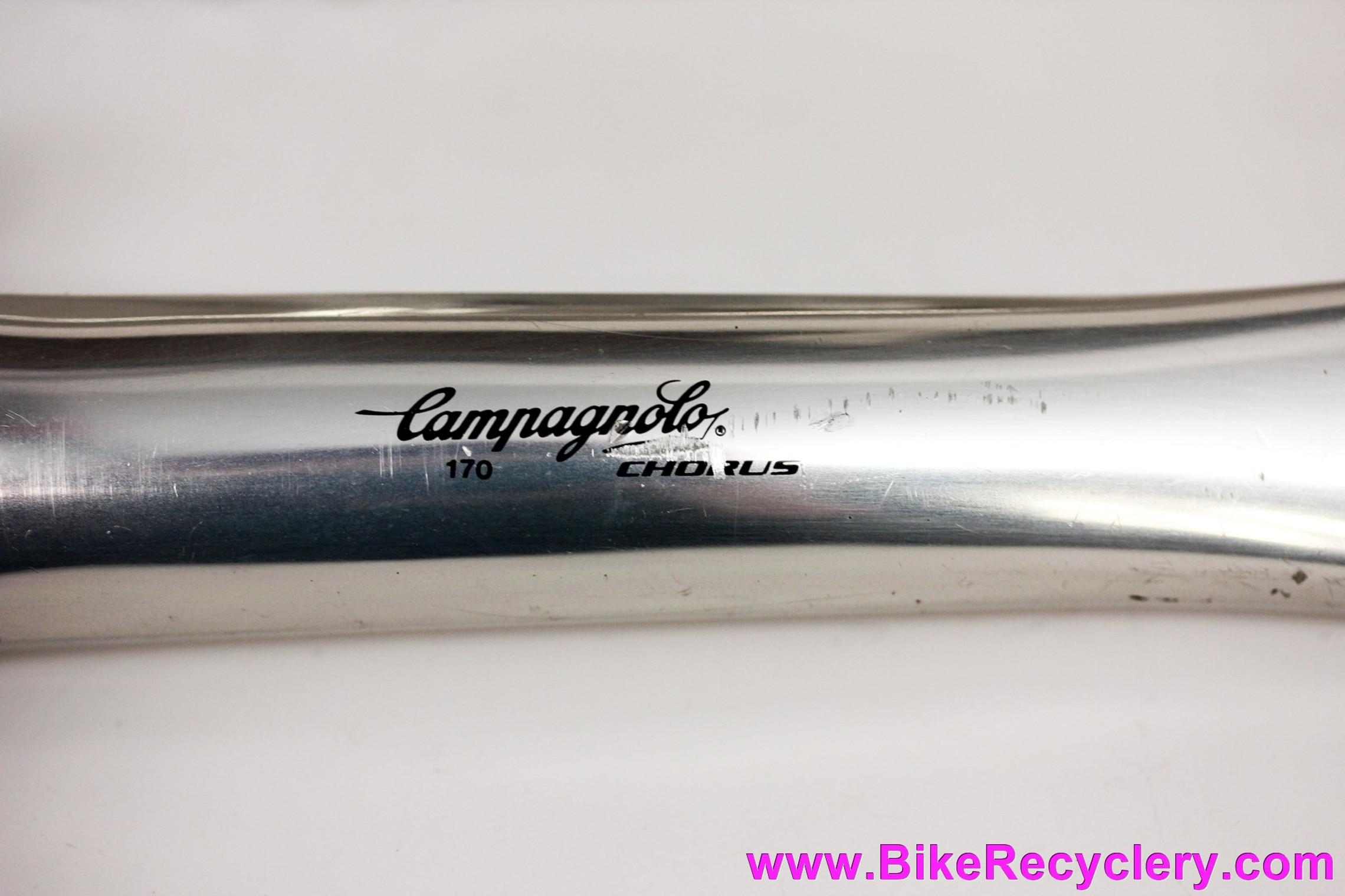 Campagnolo Chorus 9 Speed Crankset: 170mm - 53/39t (EXC+ Low Miles)