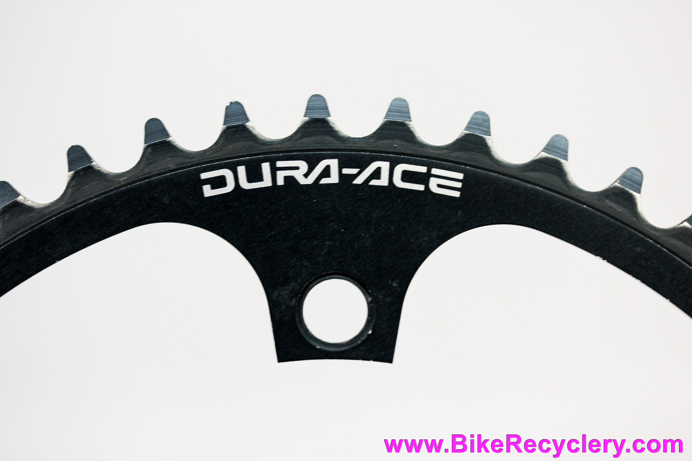 """Shimano Dura Ace Track Chainring: 5t x 144mm - 1/8"""" - 7600 / 7710 - Black (Almost NOS)"""