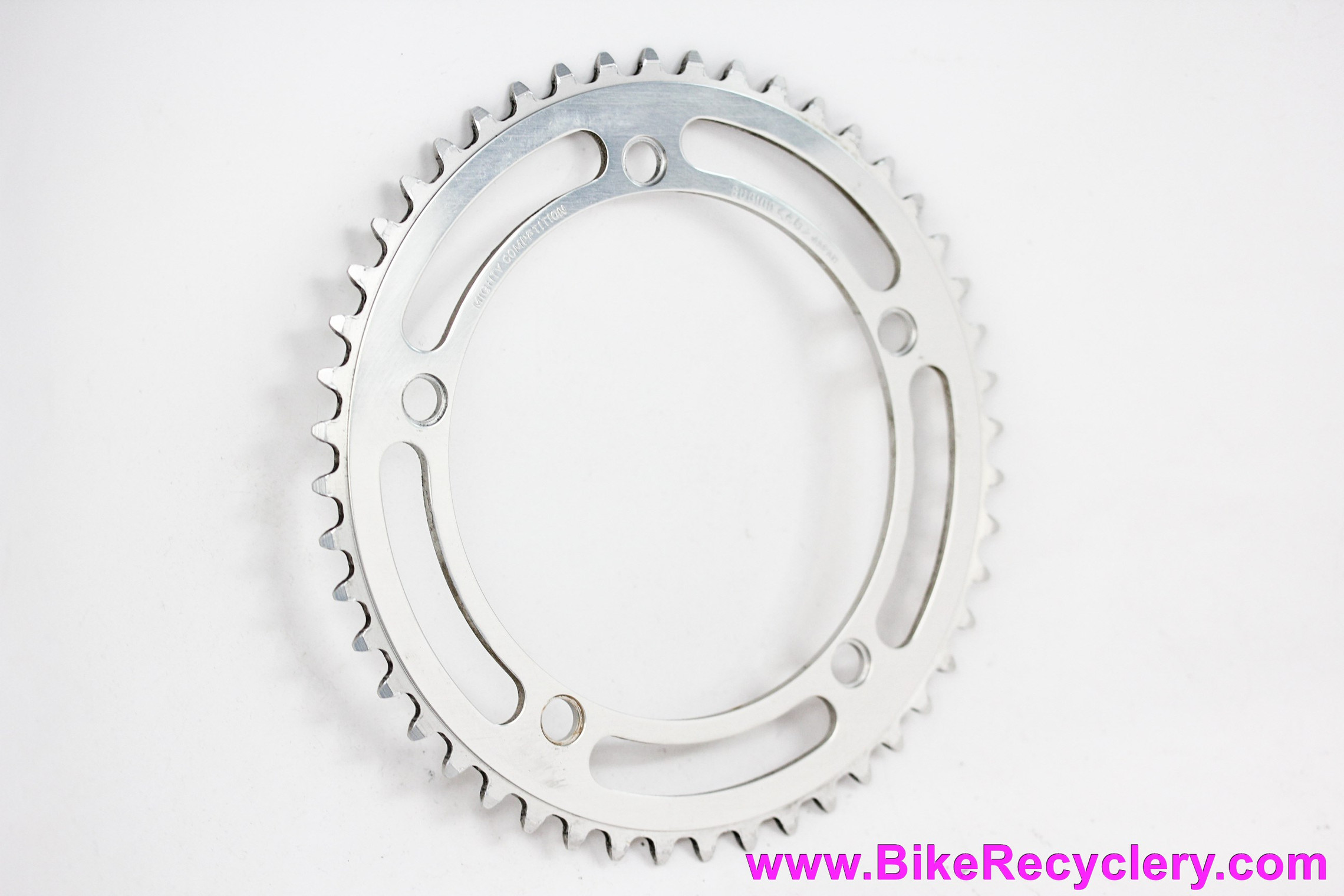 """Sugino Mighty Competition Track/Pista Chainring: 48t x 144mm - 1/8""""  (Near Mint Low Miles))"""