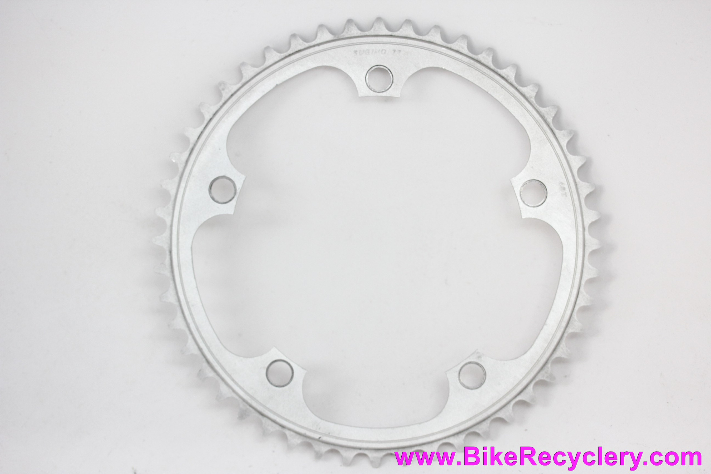"Sugino 75 Track/Pista Chainring: 48t x 144mm - 1/8""  (Near Mint)"