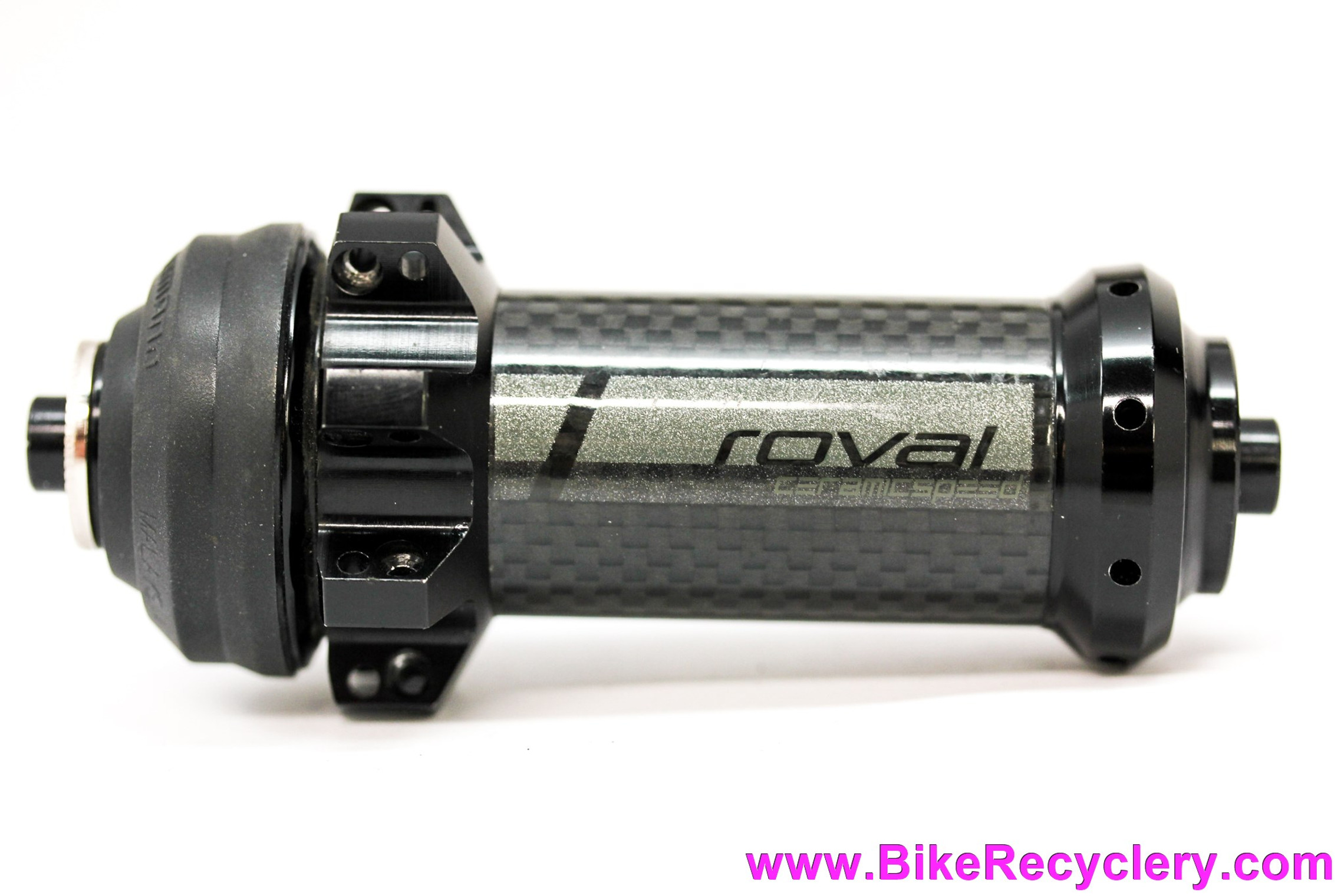 Roval CeramicSpeed CLX 40 Disc Centerlock FRONT Hub: 24H - Carbon - Radial+Straight Pull (Take Off?)