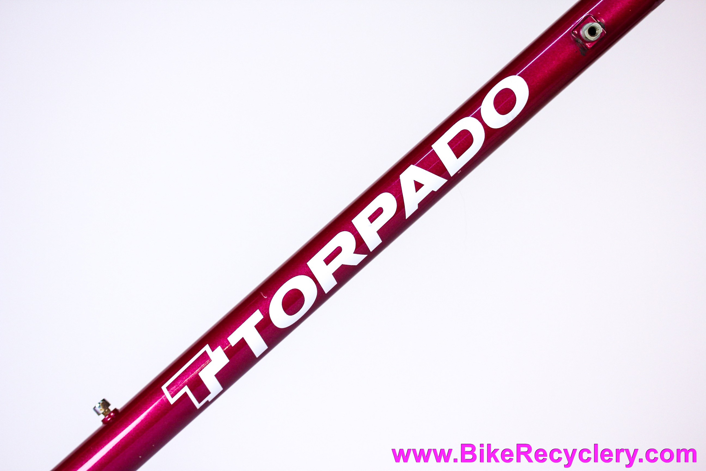 Torpado Superlight X Frame & Fork: 58cm - Joe Bell Paint - Columbus SLX - Internal Routing - Pantograph Lugged Steel (EXC+)