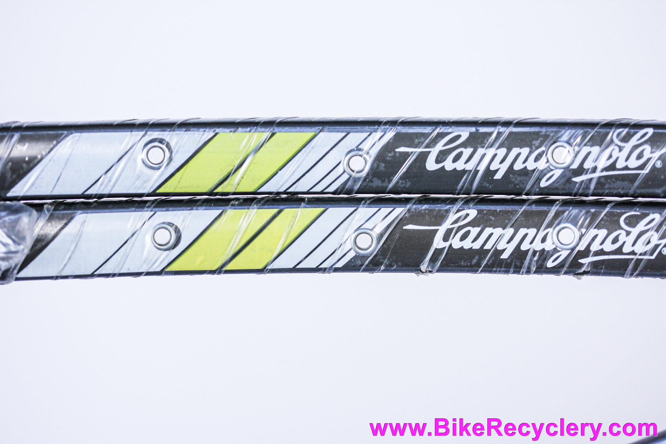 NIB/NOS Campagnolo Omega Strada Hardox Tubular Rims: PAIR - 32H - Vintage Early 1990's
