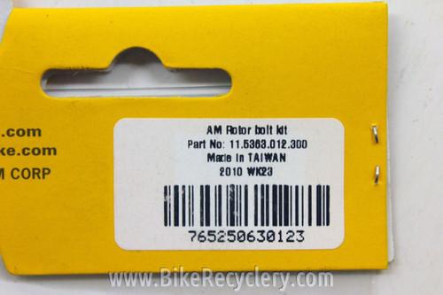 Avid Disc Brake Rotor Bolts Kit: T25 (6 Bolts)