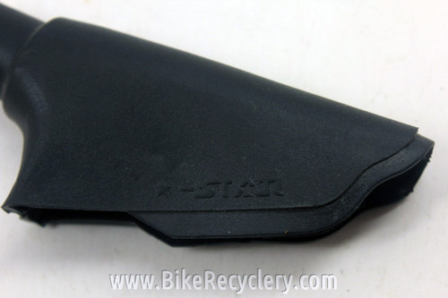 """NOS Generic Brake Lever Rubber Dust Boots / Hoods, Labeled """"Star"""" (pair)"""