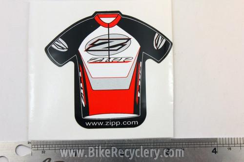 ZIPP Speed Weaponry Mini Jersey Sticker
