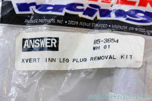 NIB/NOS Manitou X-Vert Inner Leg Plug Removal Tool Kit