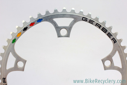 GERBER Pantographed Campagnolo Super Record Chainring: 52T