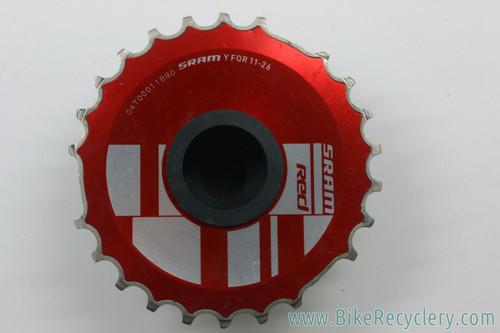 SRAM Red OG1090 10-Speed Cassette: 11-26t (<100 Miles)