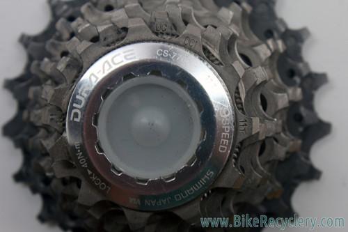 Shimano Dura Ace CS-7700 9 Speed Cassette: 11-21t (Near Mint)