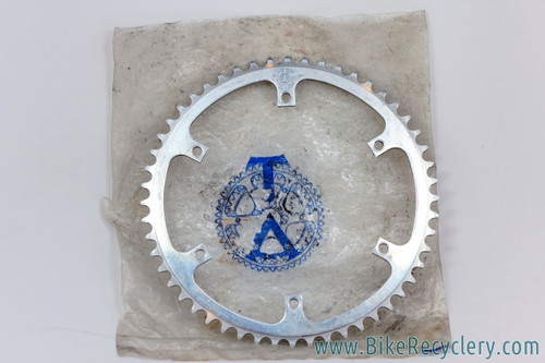 """TA Professional REF P209 Track Chainring: 6-Bolt - 1/8"""" - 52t - 152mm (used)"""