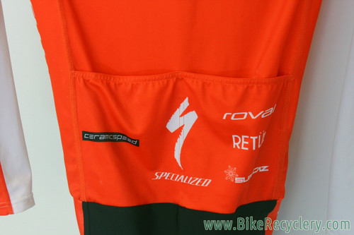 Ned Overend Team-Issued Specialized SL Skinsuit: XS - Lightweight - Red & White (Near Mint)