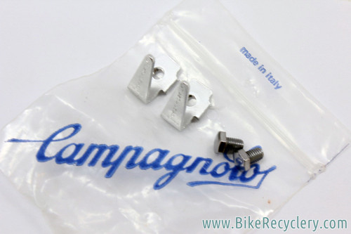 NIB/NOS Campagnolo Toe Clip Bolts & Pedal Toe Flip - Kick Tabs