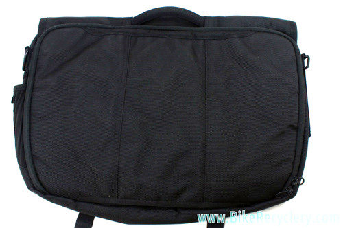 NEW Timbuk2 Commute Briefcase Messenger: Black - Large Back Pocket - 17""