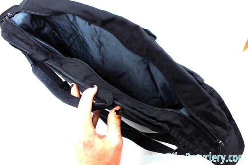 "NEW Timbuk2 Sling Briefcase Messenger: TONS of Pockets - Black - 17.5"""