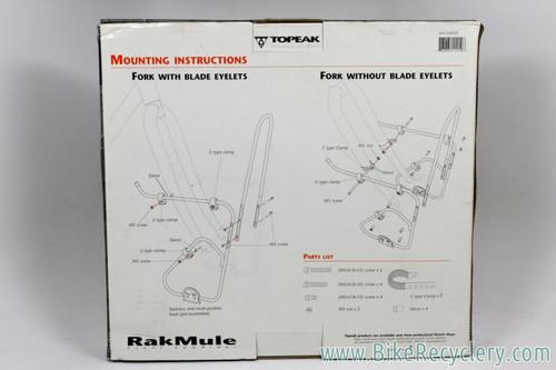 Topeak Rak Mule Lowrider Front Rack: Silver (NEW)