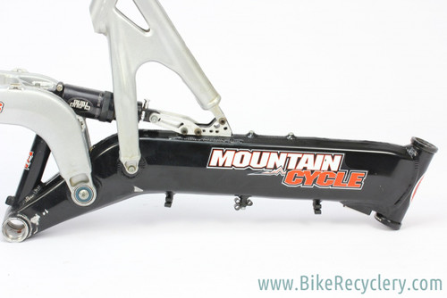 "Mountain Cycle San Andreas Frame: 19.5"" (L) - Cane Creek Cloud Nine Shock - Black & Silver"