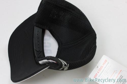 W.O.R.C.C (Women's Off-Road Cycling Congress) Snap-Back Trucker Hat: Black/White (NEW)