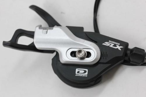 Shimano SLX B I-Spec SL-M670 10-Speed Rapidfire Shifters: Front/Left (near mint)
