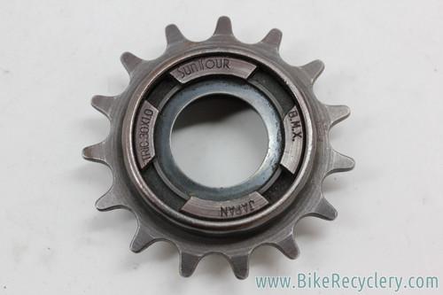 "Suntour BMX Freewheel: 15t x 1/8"" - 4 Prong - 1980's (Near Mint)"