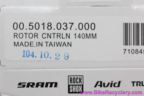 SRAM Centerline 140mm Disc Brake Rotor: 6 Bolt (NEW)