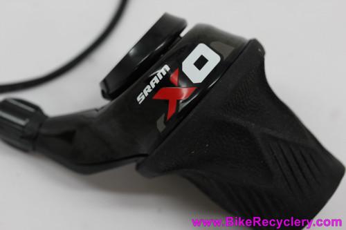 SRAM X0 2sp Twist / Grip Shifter: Front - 2x10 2x11 (NEW)