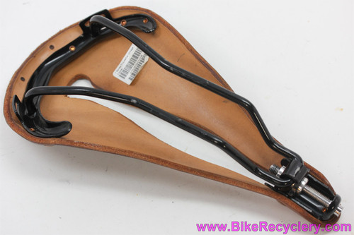 Selle Anatomica T (1) Series Leather Saddle: Honey Brown w/ Copper Rivets (Near Mint)
