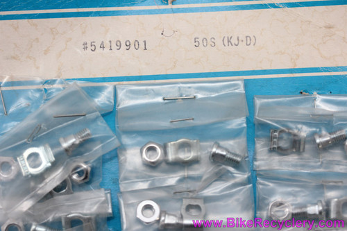 NIB/NOS Shimano Derailleur Cable Anchor Bolt, Nut, & Washer: #5419901