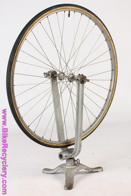 ELDI Wheel Truing Stand: Cast Iron - Pre-War 1920's 1930's Vintage - German - Bicycle/Motorcycle