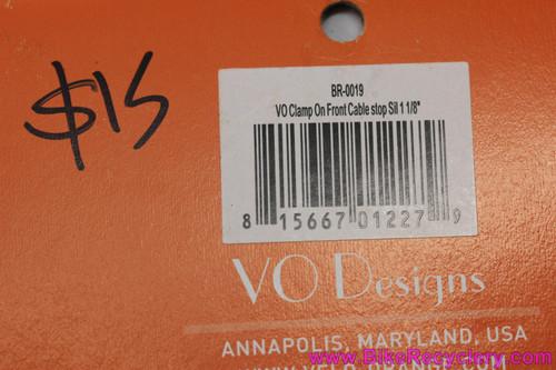 "Velo Orange 1 1/8"" Alloy Cable Hanger (NEW)"