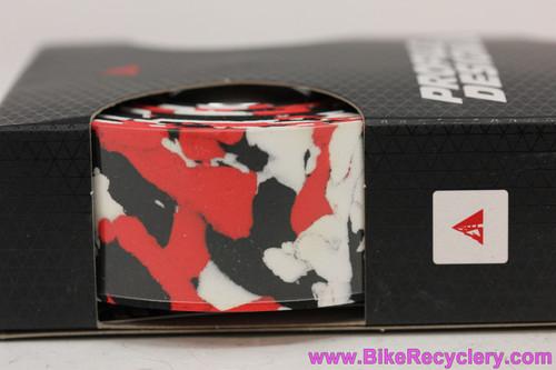 Profile Design Splash Tape: Red, Black & White (New)